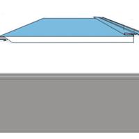 屋面瓦片:契合式金属瓦