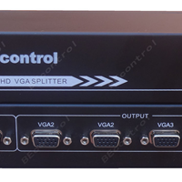 VGA分配器 4口 视频 VGA一分四 1进4出