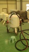 供应移动式喷砂机