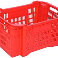 红色塑料箱黄色灰色绿色塑料箱天津销售