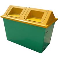 供应济南小区玻璃钢垃圾屋样式多样可选