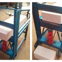 供应液压切砖机加气块切砖机