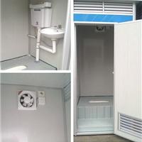 公园工地活动厕所直排式厕所公共厕所