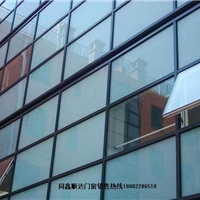 天津宝坻区玻璃幕墙,专业玻璃幕墙安装施工