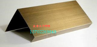 不锈钢镀铜拉丝板