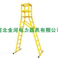 供应3-6M可定制规格人字平台梯材质玻璃钢