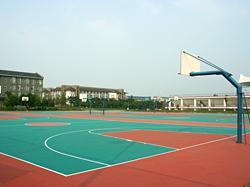 供应上海市篮球场施工、报价、图片、厂家