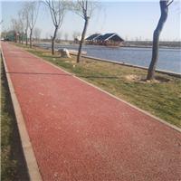 供应园林红色8公分透水混凝土多少钱一平米