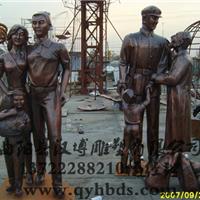 供应玻璃钢雕塑,人物雕塑制作厂家,铸铜