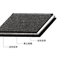 LH203-聚乙烯胎改性沥青防水卷材