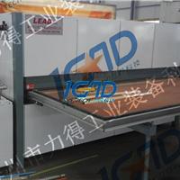 供应滕州力得专业定做大铁门门板木纹转印机