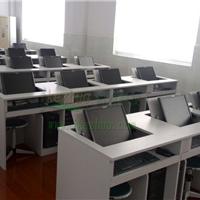 供应多功能翻转电脑桌 隐藏显示器翻转桌