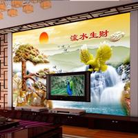 供应客厅电视沙发专用 3D仿玉瓷砖背景墙
