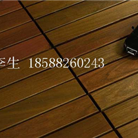 供应紫檀阳台防腐木地板