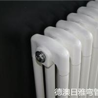 供应贵州贵阳白云区 钢制弯管散热器三柱