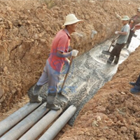 低摩高强维纶水泥电缆管(组图)