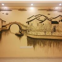 供应高级画师油画国画山水画以及手绘壁画(墙面装饰)