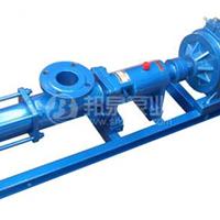 G35-2无级变速螺杆泵 手动可调不锈钢螺杆泵