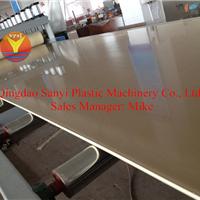 供应厨柜壁橱板生产线/PVC结皮发泡板生产线