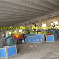 PVC(木塑)结皮发泡板生产线/建筑模板、浴柜板生产线招商