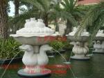 供应精工雕刻旱地喷泉水钵 订做景观喷泉