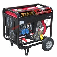 供应柴油低噪音小型发电电焊机