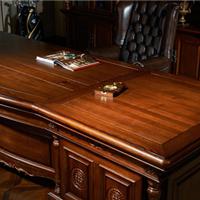 路易十四班台 纯实木办公家具 佳诚家具