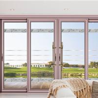 铝合金门窗十大品牌供应高品质豪华推拉门