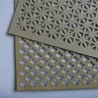 供应冲孔铜板网