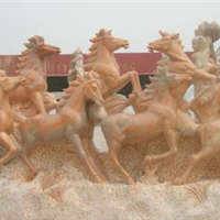 石雕凤凰,凤凰雕刻,河南石雕厂