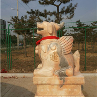 河南石雕厂介绍动物石雕的雕刻方法