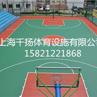 塑胶篮球场施工厂家,塑胶篮球场造价