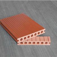 长期供应木塑圆孔地板