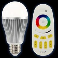 供应精品灯具遥控七彩变色LED球泡灯