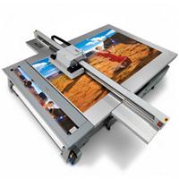 金属UV平板彩色打印机不锈钢万能平板打印机