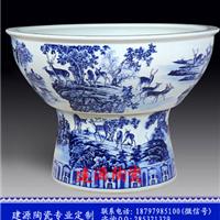 供应景德镇陶鱼缸 陶瓷大缸放庭院陶瓷缸
