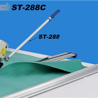 供应台湾速利厚料直线断布机裁剪机