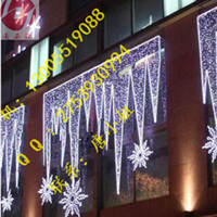 供应商场幕墙装饰灯造型灯设计