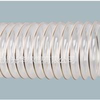 供应PU钢丝波纹软管(工业通风吸尘塑筋软管