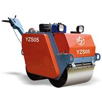 供应0.5吨双钢轮振动压路机_路捷_金晓机械