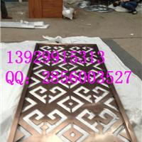 供应实心钣金激光镂空工艺钛金不锈钢屏风
