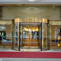 两翼旋转门 两翼酒店旋转门