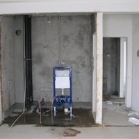 安徽合肥写字楼卫生间HDPE同层排水工程安装