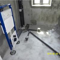 安徽芜湖小区卫生间HDPE同层排水系统施工
