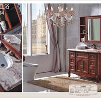【倍徕尔】新款美式仿古实木浴室柜B-6004面向全国招商