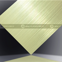 供应定制拉丝铝板助你提升市场竞争力