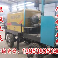 河北广平县柴电搅拌车载泵-野外施工-自动化