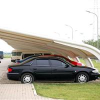 安徽膜结构车棚定做/PVDF膜布制作价格