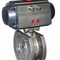 供应Q671F气动对夹球阀,气动薄型球阀