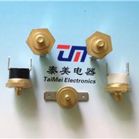 TM22六角铜头温控开关M4国标热保护器